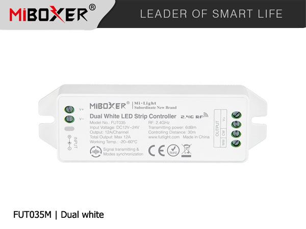 Mi.Light-ODBIORNIK-4-STREFOWY-MONO+WW+CW-max12A RF/WIFI NEW