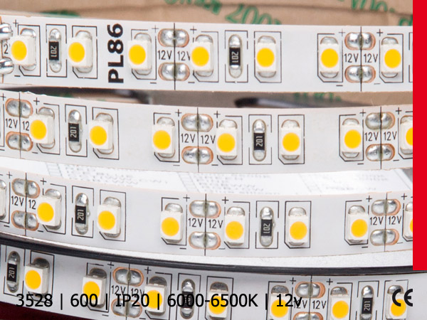 3528SMD 600LED/5M IP20 BZ PROF PLUS