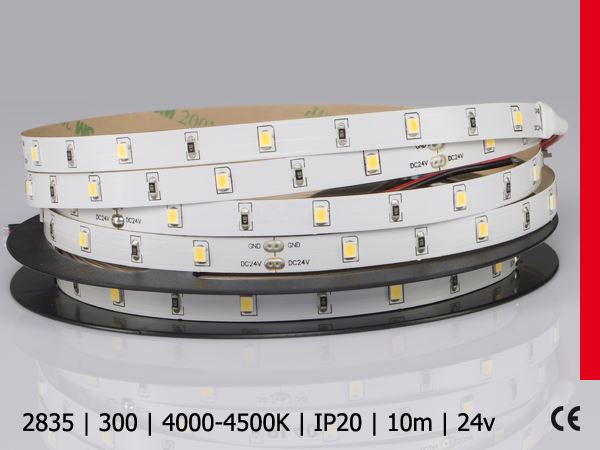 2835SMD 300LED/10M IP20 BN PROF PLUS 24V 10metrów led cyna wrocław